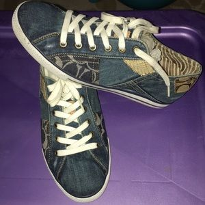 Coach Sneakers Barely Worn